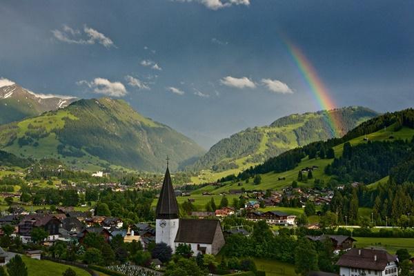 Saanen, Schweiz